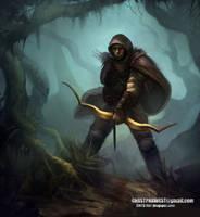 Forest Hunter by chrstphrwest