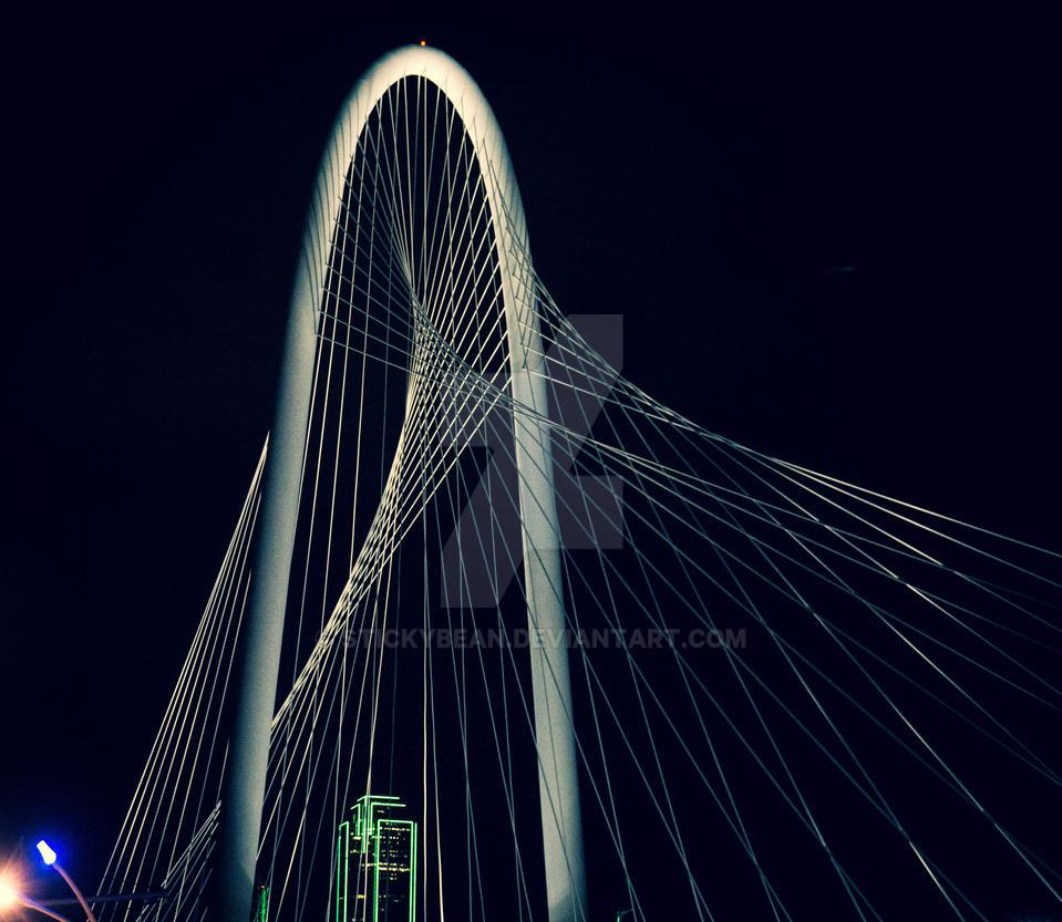 New Bridge in Dallas by stickybean