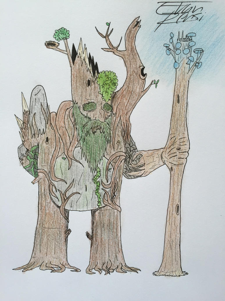 OC - Elder Wilbur by TheForbiddenTenet