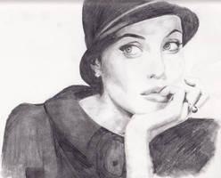 Angelina Jolie by Samirakate