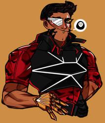 sharp bad guy by b0yamora