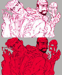 Reapers and Prayers feat. Gabriel Reyes by b0yamora
