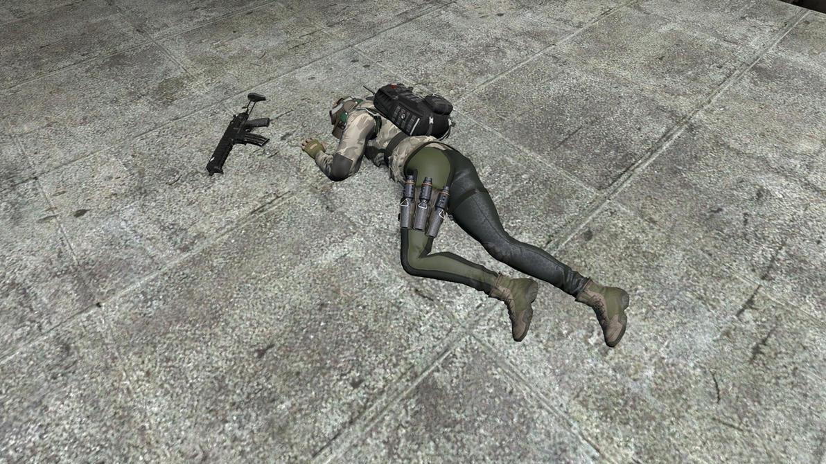 R6: Ela Down 1 By DefeatedGirls On DeviantArt