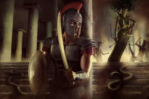 Perseus versus Medusa by GabrielWyse