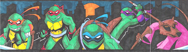 Heroes in a half shell by Glax101