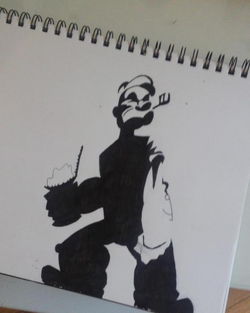 Popeye Wip by Glax101