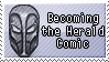 Becoming the Herald Comic stamp by Ikleyvey