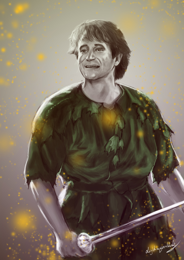 Robin Williams 1of 5 by LightMagicalLady