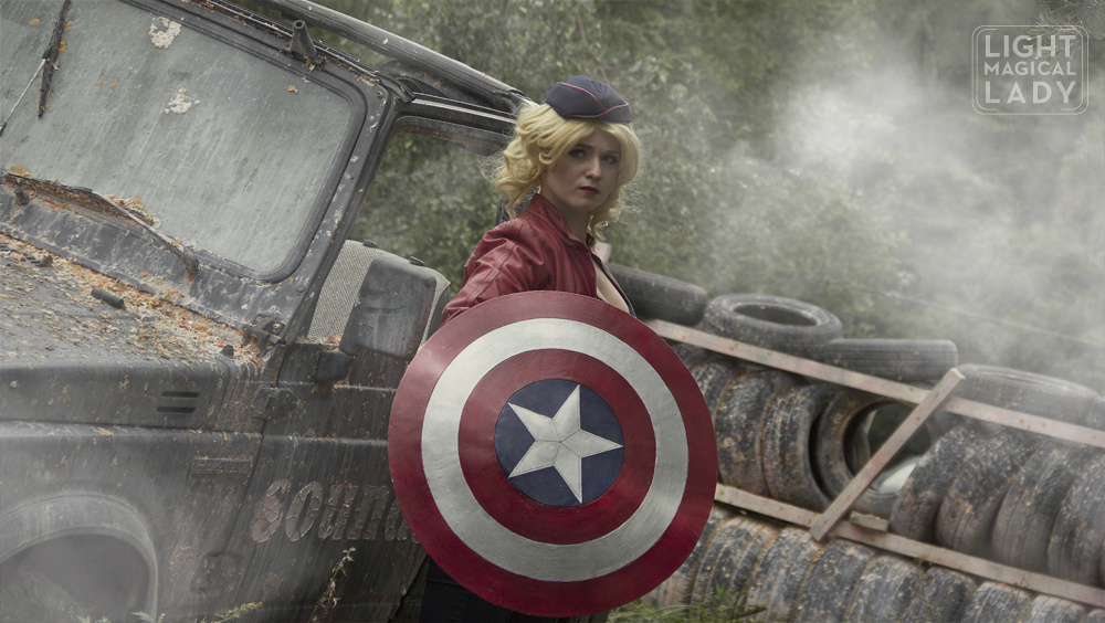 Cap ready to fight Hydra by LightMagicalLady