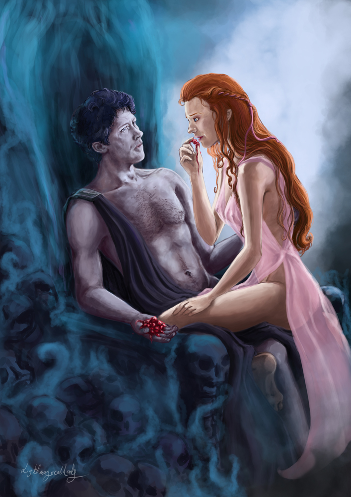 Hades and Persephone by LightMagicalLady