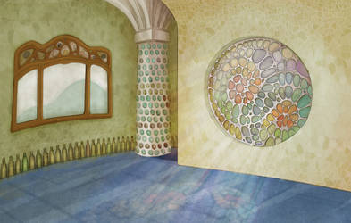 gaudi background by marinpoppins