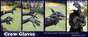 Crow Gloves by SagandeTeam