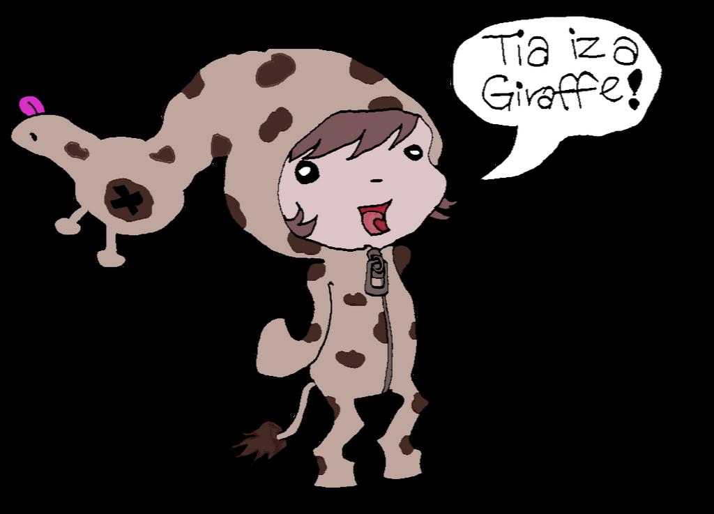 Giraffe Tia by dekorAdum