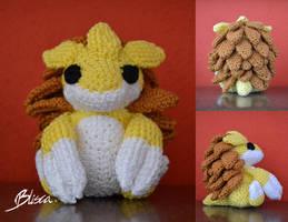 Crochet Sandslash by Blisca