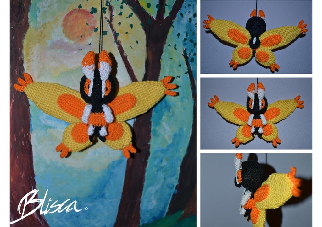 Crochet Mothim by Blisca
