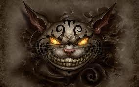 cheshire cat by Bloodyangel0510