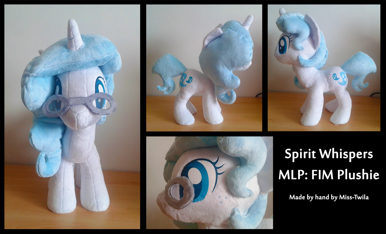 Spirit Whispers Plushie by Miss-Twila