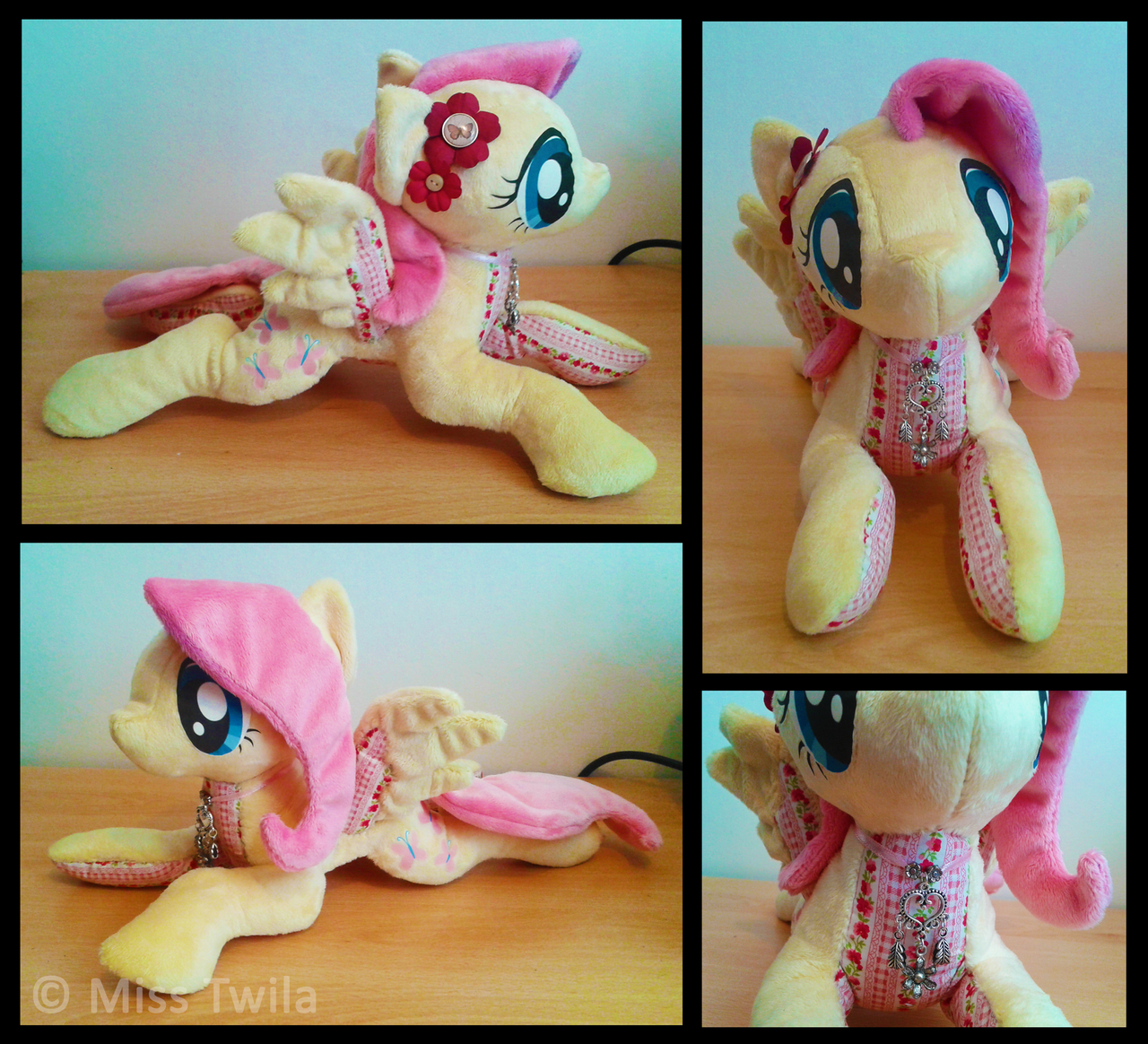 Patchwork Ponies - Fluttershy *FOR SALE* by Miss-Twila
