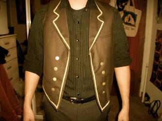 Booker DeWitt-Bioshock Infinity vest by AmaranthineRain