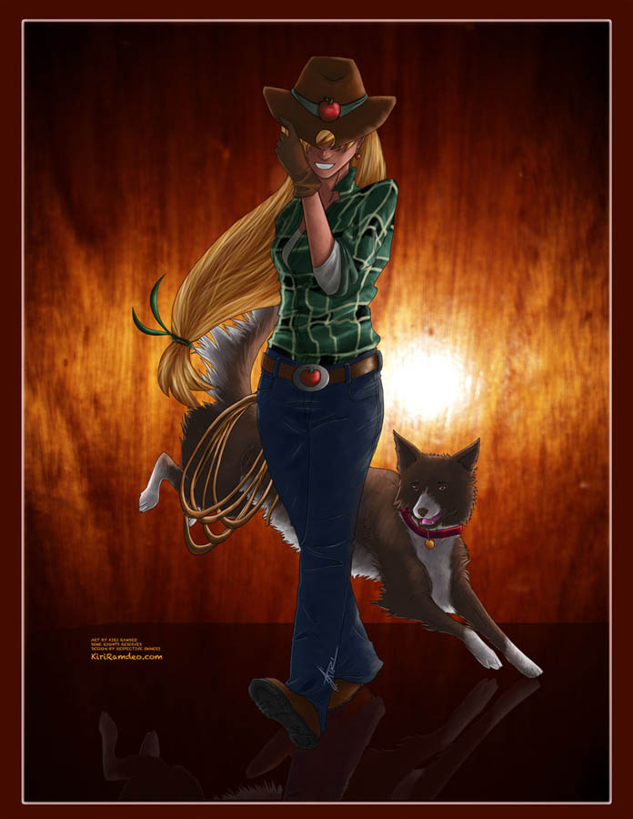 Cowgirl by AmaranthineRain