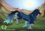 L216 Frosted Stitches by AmaranthineRain