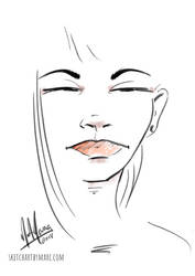 Girl 70 by sketchartbymarc