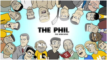2017 The Phil Poster Wallpaper by cityfolkwebcomic