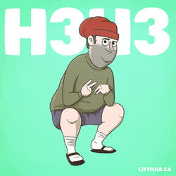 H3h3 by cityfolkwebcomic