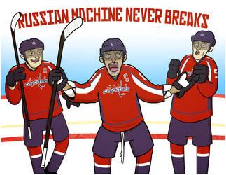 Russian Machine Never Breaks by cityfolkwebcomic