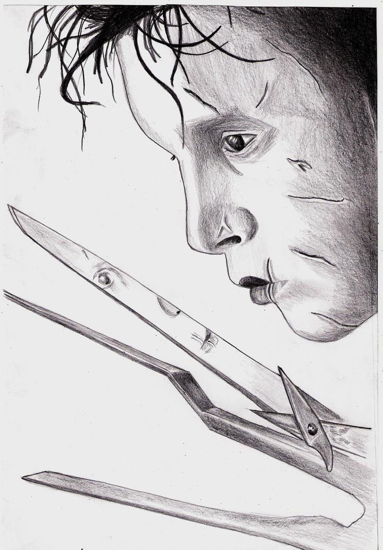 Edward Scissorhands by zenshinibuu