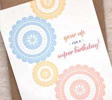 Gear up birthday card by happydappybits