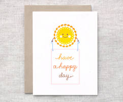 Happy Day Card by happydappybits