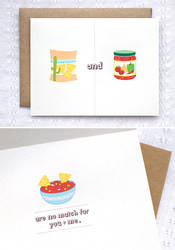 Chips and Dip Card by happydappybits