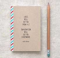 Einstein Mini Journal by happydappybits