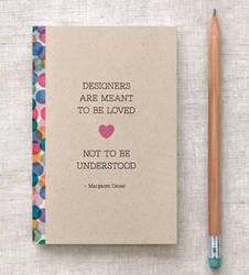 Designers - Mini Journal