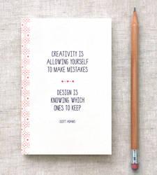 Creativity - Mini Journal