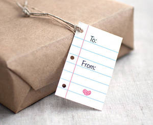 Notepaper Gift Tags