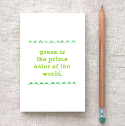 Earth Day Journal / Sketchbook
