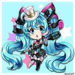 Magical Mirai 2019 Miku [SPEEDPAINT]