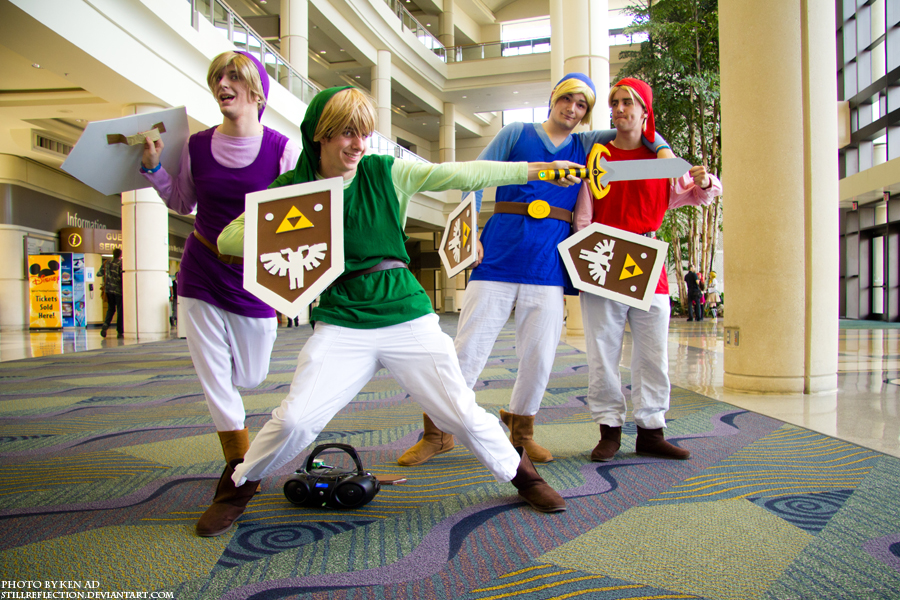 MegaCon 2012: Zelda Four Swords by stillreflection