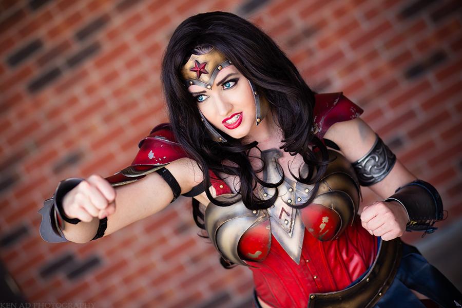 Wonder Woman Strikes by stillreflection