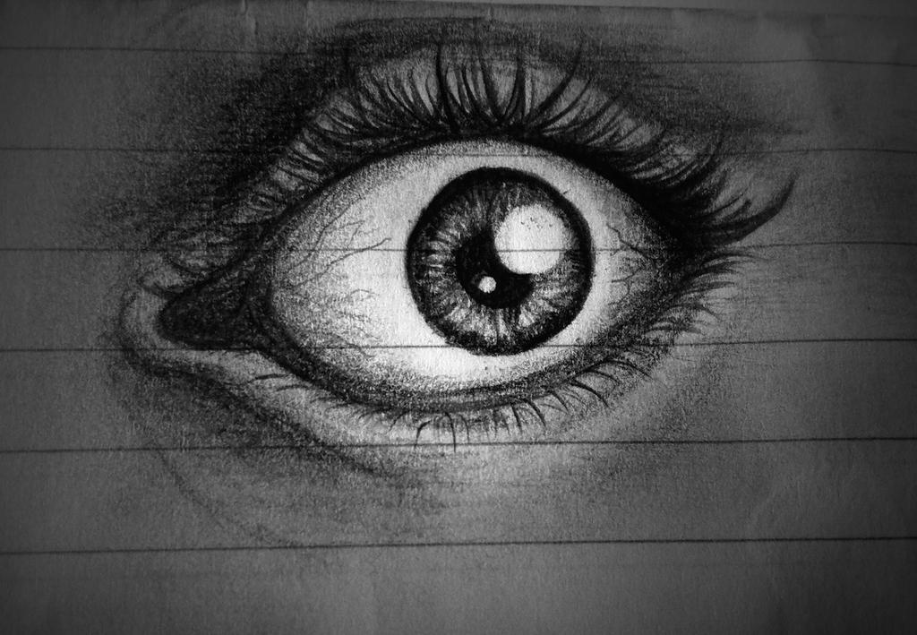 Eye Sketch by Gokalp10