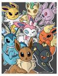 Eeveelutions Binder Cover