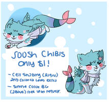 $1 Sushi Dog Chibi Commissions (Closed)
