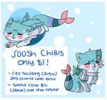 $1 Sushi Dog Chibi Commissions (Closed)