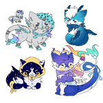 Soosh Chibi Commissions Batch 6