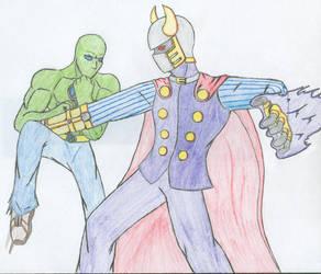 Spawnex vs  Evil by Zkaiser