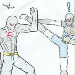 Disturbed Spawnex vs Police by Zkaiser