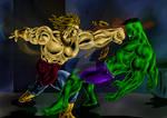 Hulk Versus Brolly 2