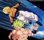 Gogeta vs Broly Shintani Style